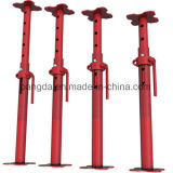 Q215/345 Powder Coated Scaffolding Steel Shoring Dirty Jack Post for