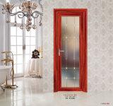 Puerta de aluminio Tempered del cuarto de baño del vidrio de modelo de la buena calidad del precio de fábrica