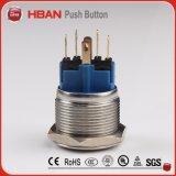 De Hbgq22-11/E/S ring-Geleide Schakelaar van de Drukknop van het Metaal van 22mm