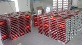 Original en usine 75mm de hauteur de la route à LED solaire goujon avec deux feux de position