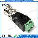 Mâle coaxial BNC de cable connecteur de télévision en circuit fermé avec le terminal de vis (CT120)