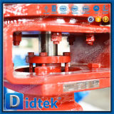 Válvula de mariposa excéntrica doble de Didtek alta Performnce