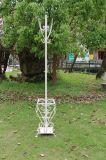 Estante de la capa del hierro de Antiwhite para la decoración