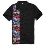 Rockabilly Taste herauf Mann-Hemden für Verkaufs-Großverkauf-Konzert-Hemden