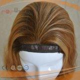 A máquina fêz a peruca barato longa do cabelo humano (PPG-l-0727)
