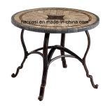 탁상 HS7603dt를 가진 옥외/정원/안뜰 등나무 또는 주조 알루미늄 테이블