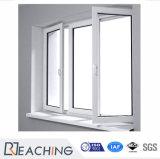 Modernes Glasfenster-Flügelfenster-Fenster mit deutschen Befestigungsteilen