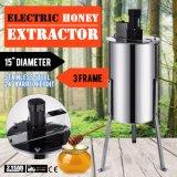 جديد تماما كبيرة ثلاثة 3 إطار [ستينلسّ ستيل] كهربائيّة عسل مستخرجة