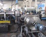 LLDPE LDPE, HDPE Film de peletización línea con el compactador Cutter