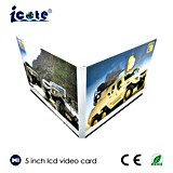 El cliente superventas posee la carga por teletratamiento video y la insignia que imprimen la tarjeta de felicitación video del asunto para hacer publicidad