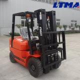 Caminhão de Forklift de 1.5 toneladas mini com altura 3-6 de levantamento