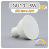 Une grande efficacité Spotlight GU10 5W à intensité variable Ampoule de LED