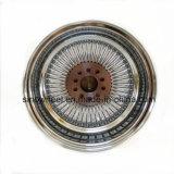 鋼線の車輪のクロムワイヤー鋼鉄車輪15X7