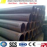Низкоуглеродистая труба углерода черноты сварки круга ERW стальная