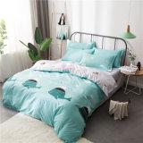 マルチデザイン、寝具は4部分の羽毛布団カバーセット、Buvet 1つのカバー、1つの合われたシーツ、2つの枕カバーが含まれている
