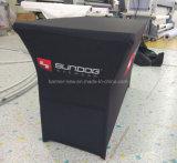 Anunciar o pano de tabela material muito Stretchy com costume imprimiu (XS-TC41)