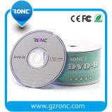 Blanc personnalisé de logo DVD-R 8X pour le marché du Brésil