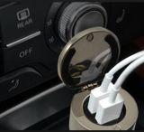 Cargador del coche del espacio en blanco de la sublimación del USB del coche de la buena calidad