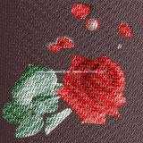 100%Polyester a dispersão transversal do ponto 3D imprimiu a tela para o jogo do fundamento