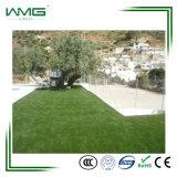 Grama artificial da paisagem de borracha para o jardim