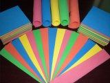 La espuma EVA de alta densidad de colores