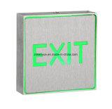 Luzes de saída de emergência recarregáveis LED Fire Safety Sinal de saída Luz de aviso de emergência
