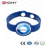MIFARE durável (R) Wristband do PVC RFID de 4K para recursos