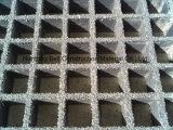 Rejilla de plástico de fibra de vidrio moldeado, rejilla de fibra de vidrio.
