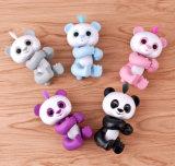 다채로운 전자 대화식 애완 동물 감응작용 작은 물고기 판다 장난감 크리스마스 선물로 지능적인 귀여운 핑거 판다