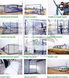 Prefab стальная структура строя модульные панельные дома контейнера офиса здания