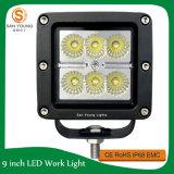 18W LED頑丈な働きのための働くライト10-30V DC IP67