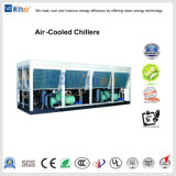 Refroidisseurs refroidis par air du compresseur à vis