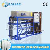 Simplement l'opération de congélation directe de la machine à glace en bloc de plaques d'aluminium