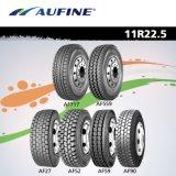 Neumático radial del alto rendimiento de Aufine para el carro (11r22.5 y 12r22.5)