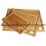 Scherpe Raad van het Bamboe van de Kaas van het Ontwerp van de douane de Antieke Laser Gegraveerde voor Keuken