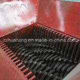 Diseño de eje de doble tubo de plástico PP/PE trituradora, trituradora de plástico duro de la máquina para la venta