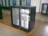 Стеклянный холодильник штанги двери с высоким качеством
