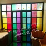 Tissu pour rideaux en verre en aluminium s'ouvrant Windows des excellents de qualité prix en métal meilleurs