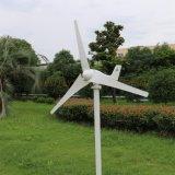 200W 24V 자유 전하 관제사를 가진 격자 또는 격자 동점 시스템 떨어져를 위한 수평한 바람 발전기