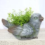 花こう岩の終わり販売のための動物形式の植木鉢の装飾