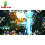 Человек 6 шариков машины игры рыболовства охотника рыб аркады игрока эксплуатируемый монеткой для сбывания
