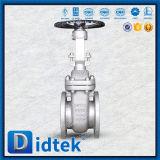 Válvula de porta de aumentação do RUÍDO da haste do aço inoxidável 1.4408 de preço de fábrica de Didtek para a refinaria