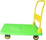 camion di mano piegante della piattaforma verde mela 300kg