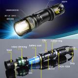 Diseño clásico 120lm R2 de alto poder de policía de la luz de linterna de foco