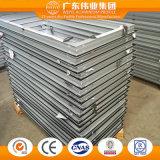 Finestra di alluminio per il progetto residenziale dell'appartamento