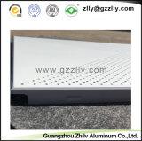 Acústico perforado de aluminio de Zhilv Clip-en el panel fonoabsorbente del techo con ISO9001 para la oficina