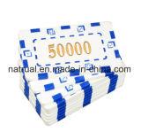 Conjuntos coloridos plásticos de encargo redondos de las virutas de póker del casino, virutas de encargo de Polyspectra, virutas de póker de la arcilla, virutas en blanco de cerámica del casino