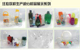 Máquina del moldeo por insuflación de aire comprimido del estiramiento de la inyección de Tritan PP de la PC de los PP del animal doméstico