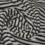 Linge de 110gsm poly/Stripe Jersey pour vêtements en tissu