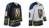 На основе красителя Sublimated печать спорта износа Custom футболках Nikeid Континентальной хоккейной лиги одежды